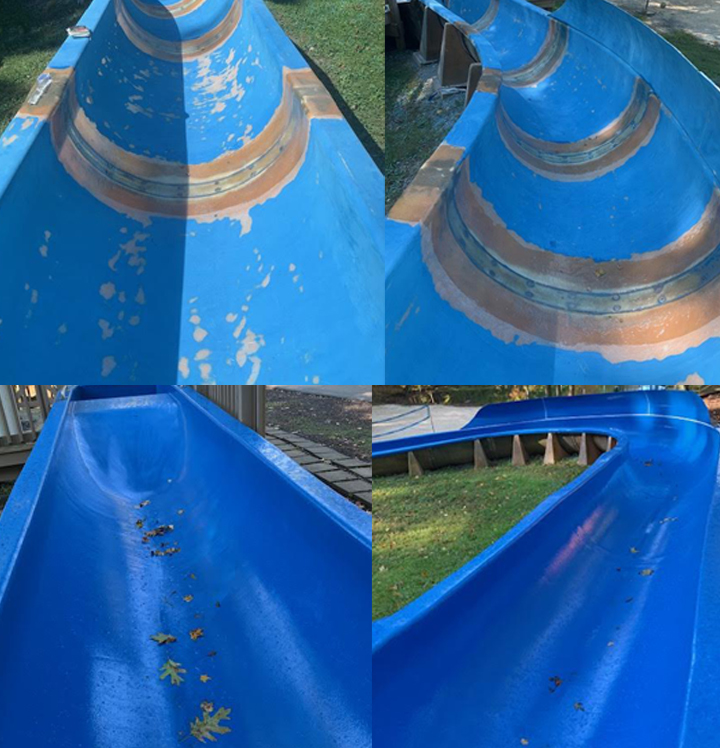 resurfaced open body slide