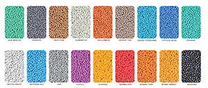 Polyolefin color chart
