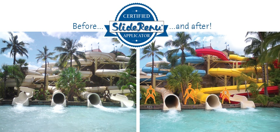 SlideRenu before and after photo